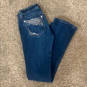 Miss Me Jeans. Size 27. Signature Slim Bootcut.